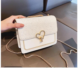 Luxury Chains Australia - 2019 Handbags for Women Classical Chain Plain Shoulder Bags Mini PU Crossbody Luxury Handbags Mother's Day Gift