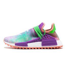 new style 7e657 5fbd8 Nmd Pharrell Williams UK - 2019 Human Race NMD Running Shoes Pharrell  Williams Hu trail Oreo