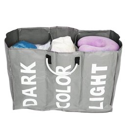 fold hand bag Australia - Portable Aluminum Handle Shopping Bags Oxford Cloth Storage Waterproof Foldable Shopping Baskets Folding Hand Bag Totes Reusable