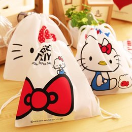 Wholesale Womens Cosmetic Bags Australia - (1pcs sell) Kawaii Drawstring Womens Travel Cosmetic Bags High Quality Makeup Bag Make Up Bag Neceser Luxury Brand Famous Brands