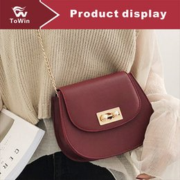 phone chain color Canada - Famous Brand Women Handbags Solid Color Luxury Designer Composite Bags Lady Clutch Bag Chain Shoulder Bag Tote Female Shell Purse Wallet