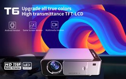 video free movies UK - LED projector LCD projector T6 home company theater 120ANSI video movie 1080P for free shipping 07