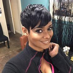Women Hair Cut Styles Australia - Brazilian Ladies Wigs for Black Women Lace front Straight Human hair wigs Short Pixie Cut Wigs with baby hair African Haircut Style