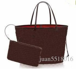 $enCountryForm.capitalKeyWord Australia - Nice New Women Leather Handbags Female Mother Package Bag Hand Mother Bill Of Lading Shoulder Bag Women Bag+small Bag N51106 M50156