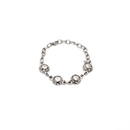 Silver Id Bracelets For Women NZ - 2019 Hot Sell Trendy Cool Style Silver Color Round Stainless Steel Bracelet For Women Gift Br040316