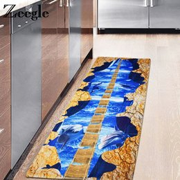 kitchen mat rug Canada - Zeegle Kitchen Mats Home Carpet Rug Office Chair Floor Mats Absorbent Carpet For Living Room Non-slip Bedroom Bedside Rugs