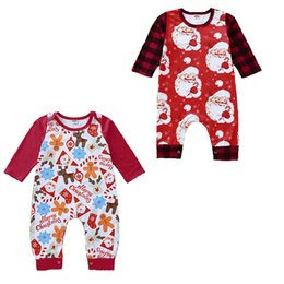 $enCountryForm.capitalKeyWord Australia - kids designer clothes girls boys Christmas romper newborn infant Xmas Jumpsuits Spring Autumn Santa Claus deer baby Climbing clothes C1365
