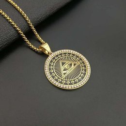 Masonic gifts for Men online shopping - Fashionable Iced Out AG Masonic Pendant Necklace Paved Lab Diamond Hip Hop Men Jewelry Gift Pendants Charm Necklaces For Firends M154Y