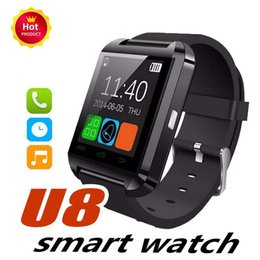 $enCountryForm.capitalKeyWord Australia - u8 smart watches Bluetooth U8 Smartwatch Wrist Watches With Altimeter For iPhone 6 Samsung S6 Note 5 HTC Android Phone free DHL