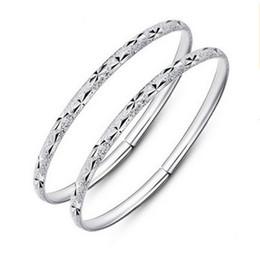 $enCountryForm.capitalKeyWord Australia - Bohemian Silver Bangle Bracelet Vintage Retro Silver Bracelets Bangles Women Classic Tibetan Silver Carved Gypsy Plum Cuff Bangles