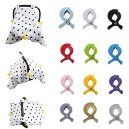 Pushchair hooks online shopping - Baby Car Seat Accessories Clips Pram Stroller Peg Hook Cover Plastic Pushchair Toy Clip Colorful Blanket Mosquito Net Clips