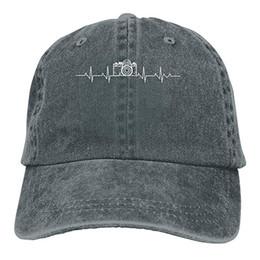 $enCountryForm.capitalKeyWord NZ - 2019 New Custom Baseball Caps Print Hat Camera Heartbeatvv Mens Cotton Adjustable Washed Twill Baseball Cap Hat
