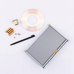 Tft Lcd Touch Screen Module Australia - 5 inch LCD HDMI Touch Screen Display TFT 800*480 Panel Module GPIO Driver For Raspberry Pi