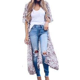 $enCountryForm.capitalKeyWord UK - Long Sexy & Club Summer Office Lady Chiffon Blouse Tops Nice Autumn Shirts Women White Print Leopard Blusa Feminina Blouse Femme