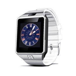 $enCountryForm.capitalKeyWord Australia - DZ09 smart watch Android phone call 2G GSM SIM card camera Bluetooth smart watch for andoid and ios