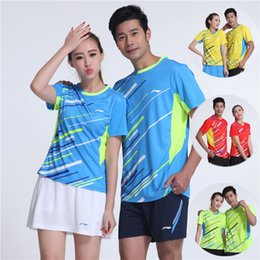 Sportswear T Shirt Badminton Australia - LND6 Li Ning Badminton Suit Sportswear for Men & Women Short Sleeve T-shirt Leisure Running Basketball casual wear Table tennis LN16301