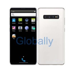Touch Screen Mobile 3g Australia - Goophone S10 plus HD Screen 6.5 Inch CellPhone 1GB RAM 8GB ROM Quard Core Fingerprint Iris Unlocked 2G 3G Mobile Phon