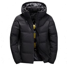 mens duck down parkas NZ - BOLUBAO 2019 Winter Down Parkas Mens Quality Thermal Thick Parka Male Warm Outwear Fashion White Duck Down Jacket Men Coats Y200107
