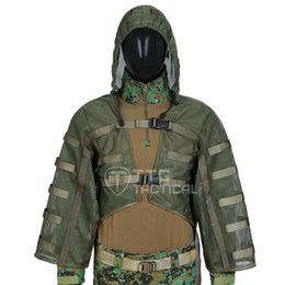$enCountryForm.capitalKeyWord Australia - Breathable Ghillie Suits Base Sniper Tog Ghillie Suit Foundation Hydration Compatible Army Green