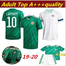 soccer jerseys thai free shipping 2020 - Free shipping newest Thai quality 2020 2021 Northern Ireland 2020 Northern Ireland Soccer Jerseys home green man + kids