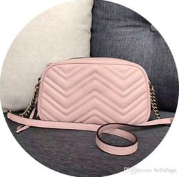 Genuine Leather Bag Design Australia - 632 HIGH QUALITY GENUINE LEATHER Marmont Bag Women handbag fashion brand designer original design free shipping messenger bag