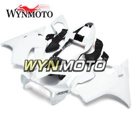 Honda Frames Australia - Hot Sale White Black Outer Covering for Honda CBR600F4i 2001 2002 2003 01 02 03 ABS Plastic Injection Carenados Motorcycle Body Frames