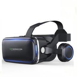 Virtual 3d Card Australia - 3D Glasses VR Glasses 6.0 Casque VR Virtual Reality 3 D 3d Goggles Headset Helmet For Smartphone Smart Phone Google Card