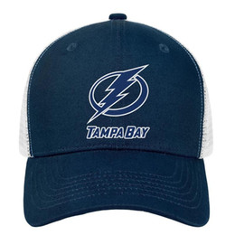 $enCountryForm.capitalKeyWord Australia - Tampa Bay Lightning BLUE WHITE men Sport Hip-hop hat funny adjustable womens dance cap personalized dad cap mesh fishing hats