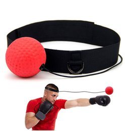 $enCountryForm.capitalKeyWord Australia - Boxing Speed Punch Ball Reflex Training Headband Improve Reaction Muay Thai Gym Exercise Equipment Hand Eye Coordination