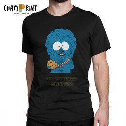 e519bfdc4d9a0 Discount cookies clothes - The Wookiee Monster T Shirt Men Cotton T-Shirts  Cookie Monster
