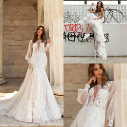$enCountryForm.capitalKeyWord NZ - Modest Sweetheart Mermaid Wedding Dresses With Wrap Jacket Lace Appliqued Sweep Train Sexy Wedding Gowns Summer Berta robes de mariée