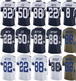 596d04ba117 Cowboys Dallas #82 Jason Witten #88 Dez Bryant #50 Sean Lee Mens Vapor  Untouchable Football Jersey 2017 Salute to Service Football Wear