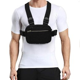 TacTical waisT pack pouch online shopping - 201909 Durable Tactical Chest Bag Hip Hop Backpack Men Pouch Waist Bag New Chest Bag For Men Casual Streetwear For Boy Waist Pack M104Y