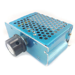 Temperature Controller Dimmer Australia - Freeshipping 20pcs 4000W AC 0-220V SCR Electronic Thyristor Power Regulator Motor Speed Controller Dimmer Temperature Controls #200455