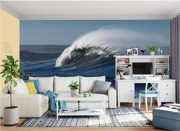$enCountryForm.capitalKeyWord UK - 3d wallpaper custom photo murals Background wall European and American giant waves HD background wall home decor wall art pictures