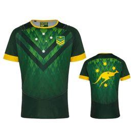 Australia Player Australia - 2019 AUSTRALIA KANGAROOS JERSEY AUSTRALIA WALLABIES INDIGENOUS JERSEY 2018 19 Players Rugby Training Singlet size S -3XL