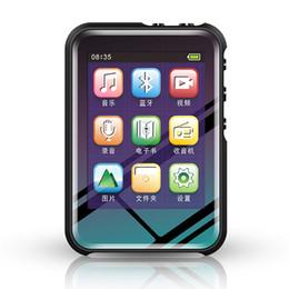 Mini speaker sports Mp3 online shopping - Mini ABS Mp3 Player Built In G Bluetooth Hifi With Speaker Full Press Screen Fm Radio Usb Flac Audio Running Walkman Sport