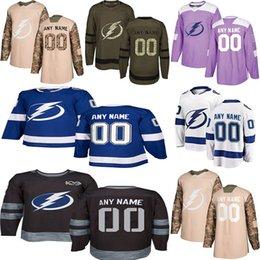 dry ice 2019 - 2018 -2019 News Tampa Bay Lightning Hockey Jerseys Multiple styles Mens Custom Any Name Any Number Hockey Jerseys discou