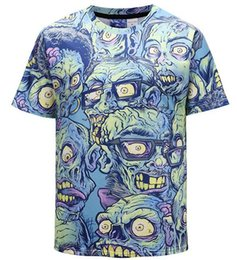 $enCountryForm.capitalKeyWord NZ - tyuih Luxury tees Mens Designer T Shirt Men's Fashion 3D Lion Print tshirts Summer Short Sleeve Cotton Tops Casual Brand Hip Hop T-shir