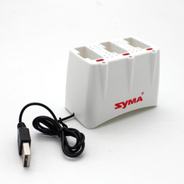Battery syma rc online shopping - SYMA X5UW RC Drone Battery Charger in Battery Charging Dock For SYMA X5UW X5UC Spare Part Aircraft Toy Accessories