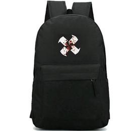 Pack Lab Australia - Painwheel backpack Reverge labs daypack Skullgirls print schoolbag Game rucksack Casual school bag Outdoor day pack