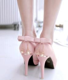 $enCountryForm.capitalKeyWord NZ - New Arrival Hot Sale Specials Super Fashion Influx Noble Sweety Pink Rhinestone Bow Platform Round Head Princess Single Heels Shoes EU32-43
