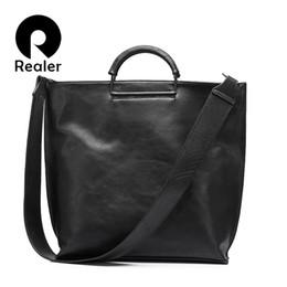 $enCountryForm.capitalKeyWord Australia - Realer Women Handbag Extra Large Tote Female Big Shoulder Bag Wide Strap Crossbody Messenger Bags Ladies Clutch J190611
