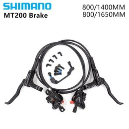 $enCountryForm.capitalKeyWord Australia - Shimano BR MT200 M315 Brake Bike Bicycle Mtb Hydraulic Brake Disc Set Clamp MTB Brake 750mm 1400mm 800 1550MM M315