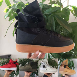 Special forceS deSert bootS online shopping - 2020 Special Field SF Mid Mens Sneakers martin Wheat Desert Ochre Vintage Black Dunk booties Women Forcing forces Designer Boots s Shoes