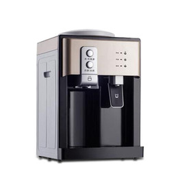 China Mini Electric Water Dispenser Desktop Miniature Cold and Hot Ice Cooling Water Cooler Hostel Water Heater Coffee Tea Bar Helper cheap miniature cooling suppliers