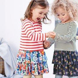 $enCountryForm.capitalKeyWord Australia - School dress costume for baby girls blouse fashion t-shirt kids tops dresses for girls pattern toddler costume 2 3 4 5 6 7years 2019 Fall