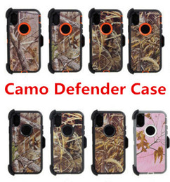 heavy belt clips 2019 - Hybrid Robot 3-in-1 Heavy Duty Shockproof Camouflage Defender Kickstand Cases For iPhone Xs Max XR 6 6s 7 8 Plus Belt Cl