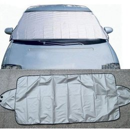 uv sun block Australia - 150x70 Cm Car Exterior Protection Snow Ice Rain Sun Blocked Car Covers Protector Visor Sun Shade Fornt Rear Windshield Cover