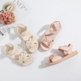 cbefabe461b flat bottom platforms sandal 2019 - 2019 New Summer Fashion Princess Girls  Sandals Children Flat Genuine